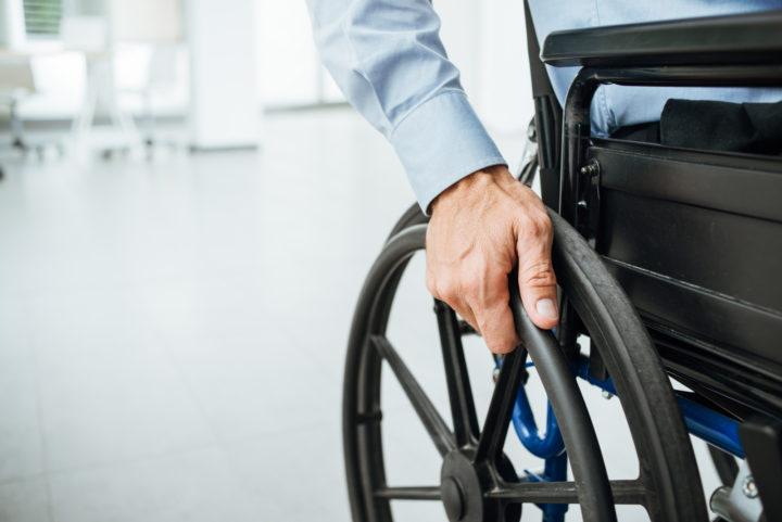 Escolher cadeira de rodas