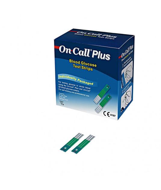 Caixa de Tiras de Teste no nível de glicose com 50 Unidades