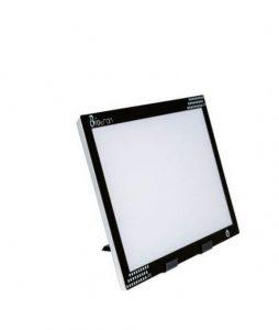 Negatoscópio Ultra Slim Led Tomográfico Preto 40X52,5X0,7CM